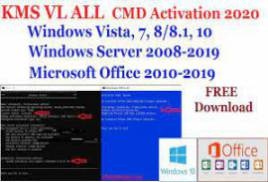 Activator CMD Windows 10 and Office 2019 - May 2019